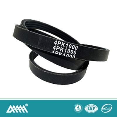 Auto rubber 4pk belt multi wedge belt for electric car parts